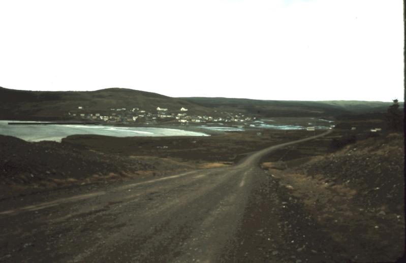 The road to Branch, Newfoundland, ca. 1975 / Aidan O'Hara