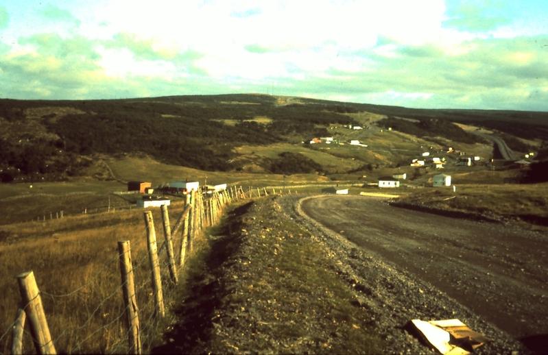 The road to Cuslett, Placentia Bay, Newfoundland, ca. 1975 / Aidan O'Hara