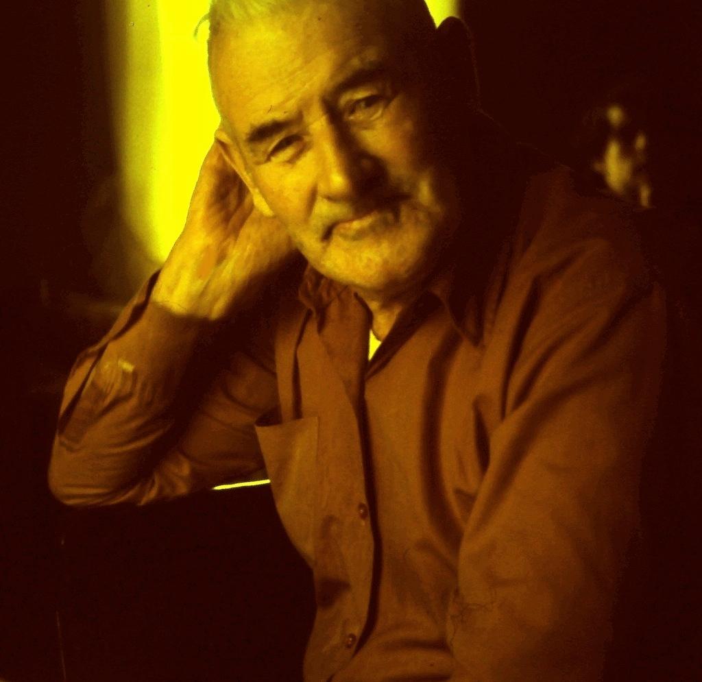 Portrait of Henry Campbell of Branch, Newfoundland, ca. 1975 / Aidan O'Hara