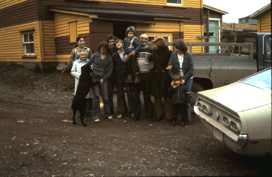 The O'Hara and Roche families in Branch, October 1975 / Aidan O'Hara