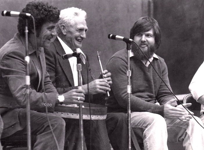 Patsy Judge and friends on stage at the 1978 Newfoundland Folk Festival / Aidan O'Hara