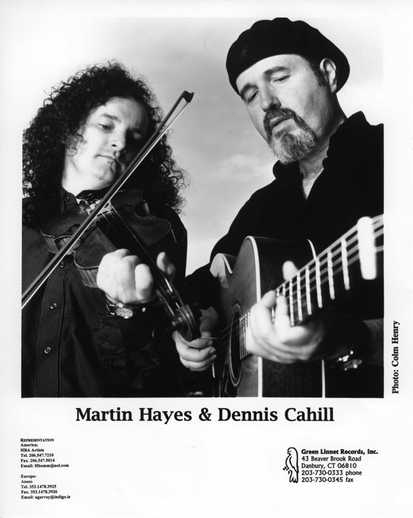 Martin Hayes, fiddle & Dennis Cahill, guitar / Colm Henry