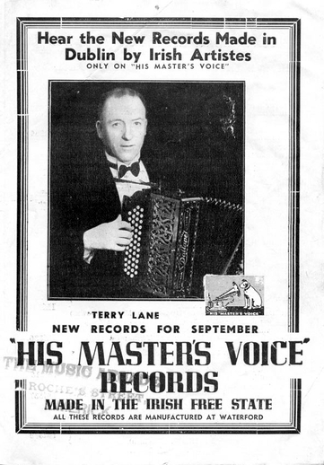 Terry Lane, accordion /  HMV