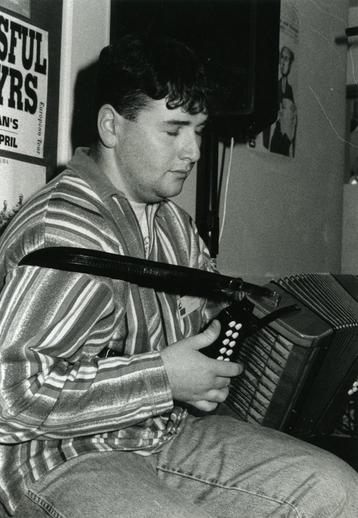 Derek Hickey, accordion / Steven de Paoire