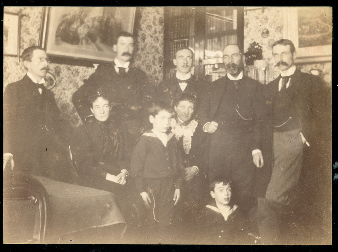 PW Joyce with members of his family, Christmas 1896 / [unidentified photographer]