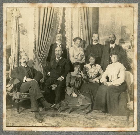 PW Joyce with members of his family, photo / GW St J Joyce