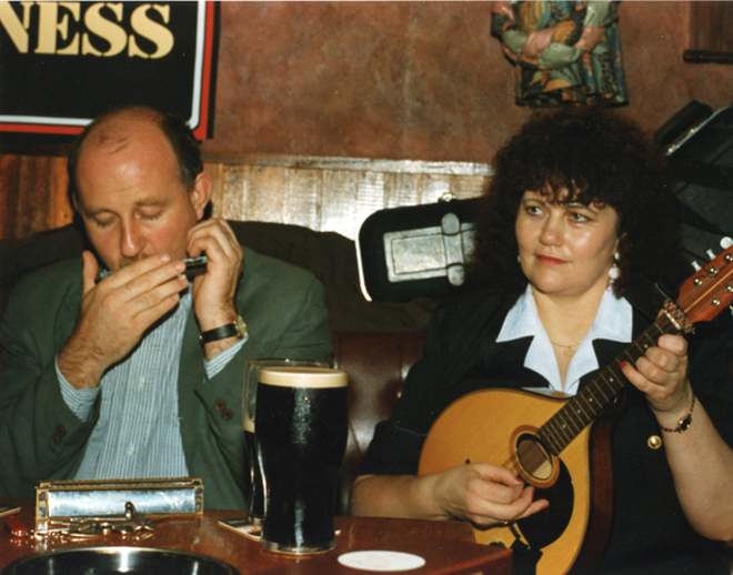 John Murphy, harmonica, & others / Luke Cheevers