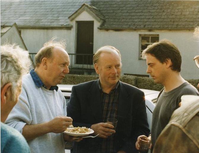 Frank Harte, singer, & others, 1994 / Luke Cheevers