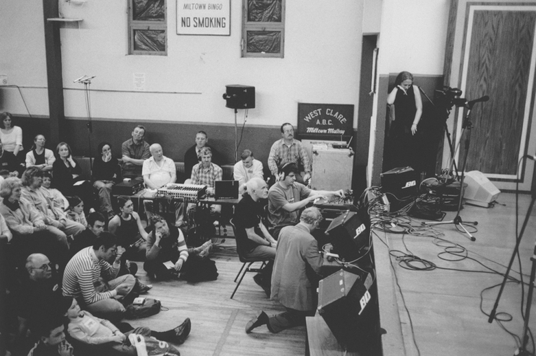 ITMA staff recording at the Willie Clancy Summer School / Tony Kearns