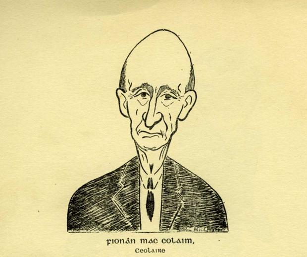 Fionán Mac Colaim, collector / [unidentified artist]