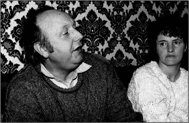 Frank Harte and Anne O'Keeffe / Colm Keating