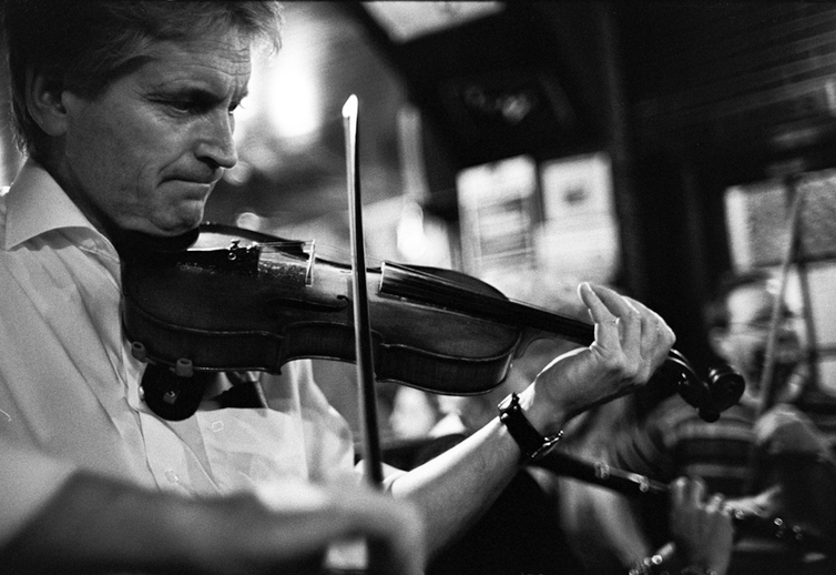 Dermie Diamond, fiddle / Danny Diamond