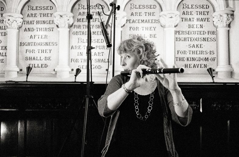 Tara Diamond, flute, 2011 / Danny Diamond