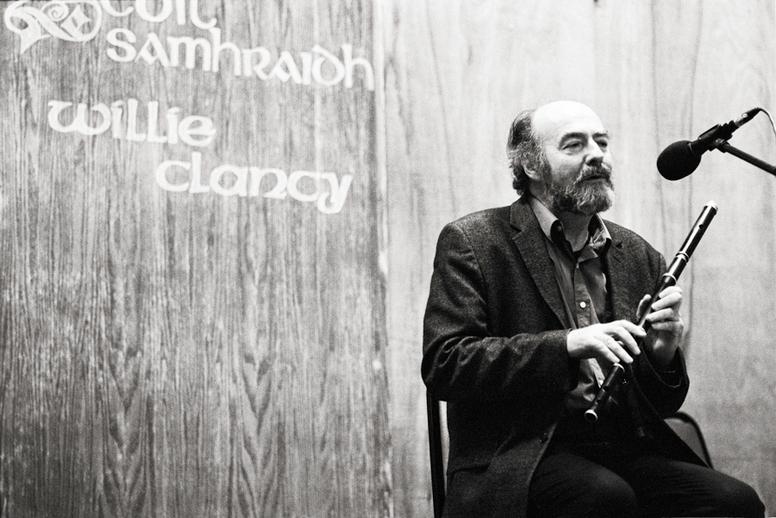 Fintan Vallely, flute, 2011 / Danny Diamond
