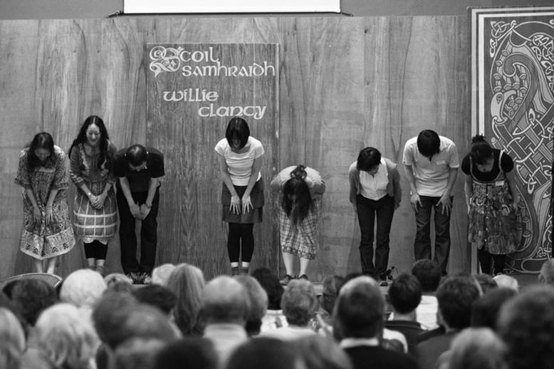 Japanese Dance School, dancers, 2010 / Danny Diamond