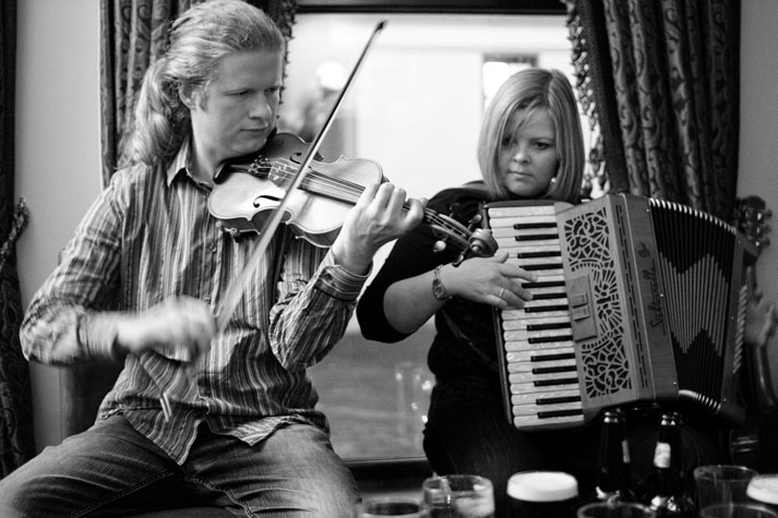 J.P. Sweeney, fiddle, & others, 2010 / Danny Diamond