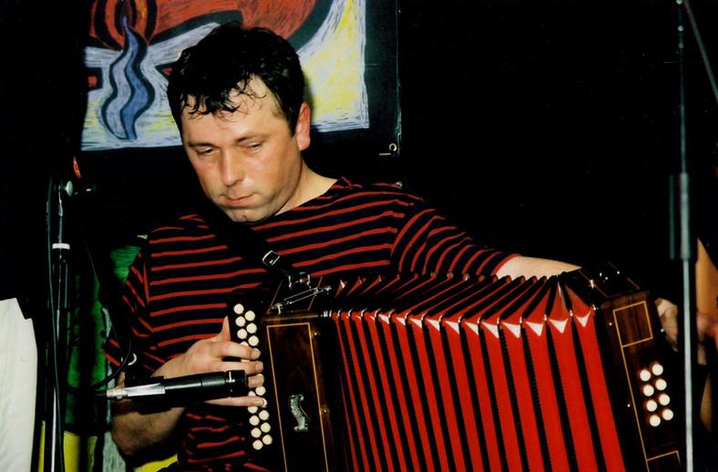 Shane Mitchell, accordion / Steven de Paoire