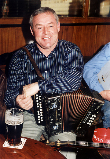Oliver Farrelly, accordion / Steven de Paoire