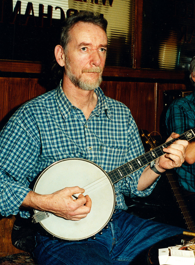 Seán Garvey, banjo / Steven de Paoire