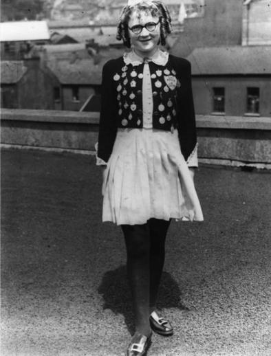 Nancy Brown, dancer, 1948 / Cork Examiner photographer