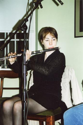 Sarah Jane Woods, flute / Lisa Shields