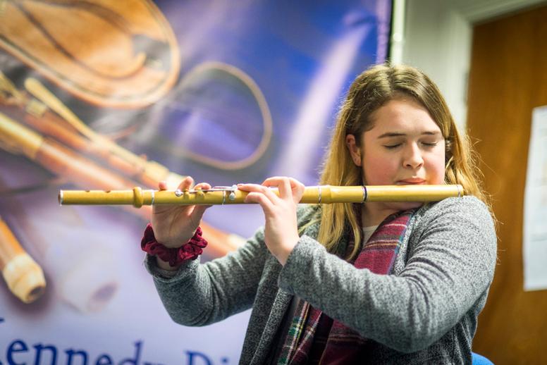 Emma Clerkin, flute / Paul Eliasberg