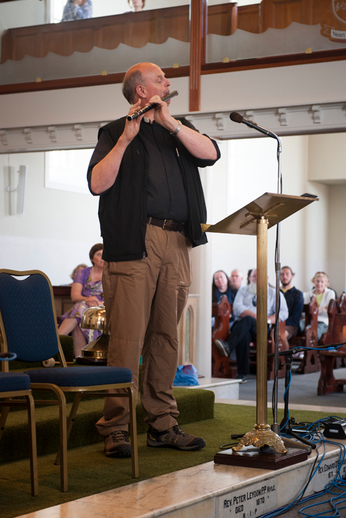 Rev. Gary Hastings, flute / Tony Kearns