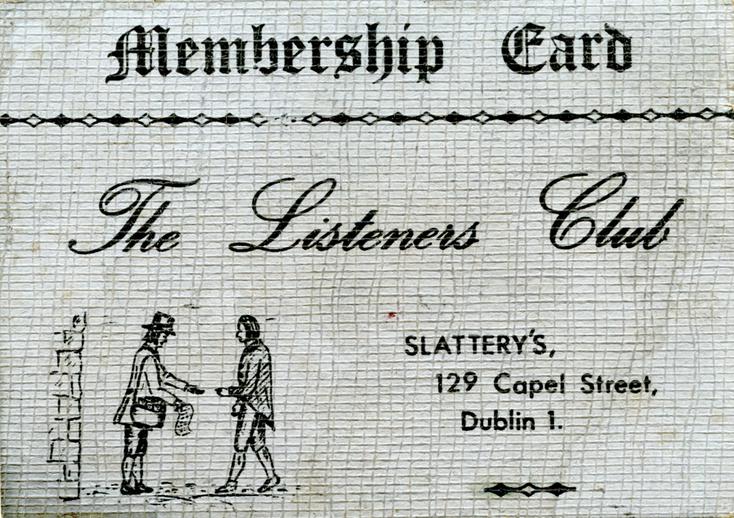 The Listener's Club, Slattery's
