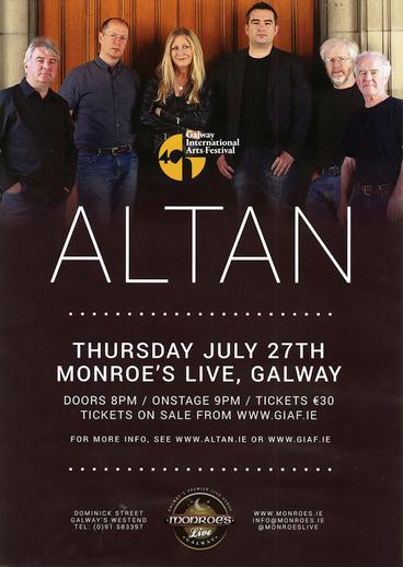 Altan Galway International Arts Festival