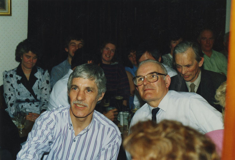 Jim Flynn and others, 1991 / Jimmy McBride