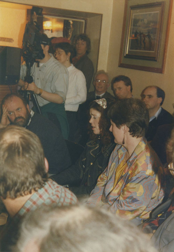 Rosie Stewart and others, 1992 / Jimmy McBride