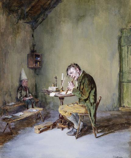 The schoolmaster's moment of leisure / Howard Helmick