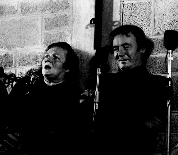 Sarah Anne O'Neill, singer, & others, 1977 / Joe Dowdall