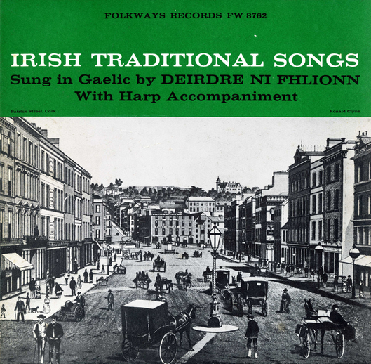 Irish traditional songs, 1958 / designer unidentified