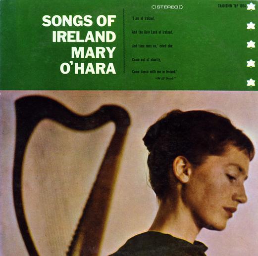 Songs of Ireland, 1958 / designer Elizabeth Clancy