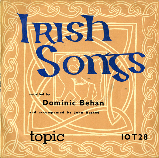 Irish songs, 1958 / designer Gloria Leader