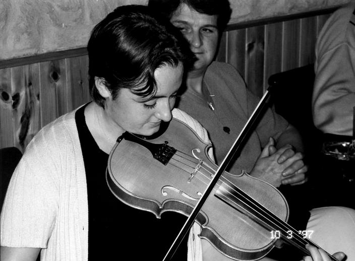 Tara Connaghan, fiddle, 1997 / Mark Jolley