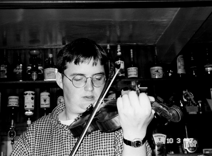 Ronan Galvin, fiddle, 1997 / Mark Jolley