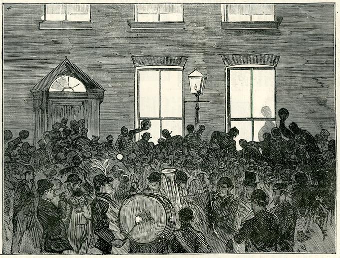 Land agitation in Ireland, 1882 / [unidentified artist]