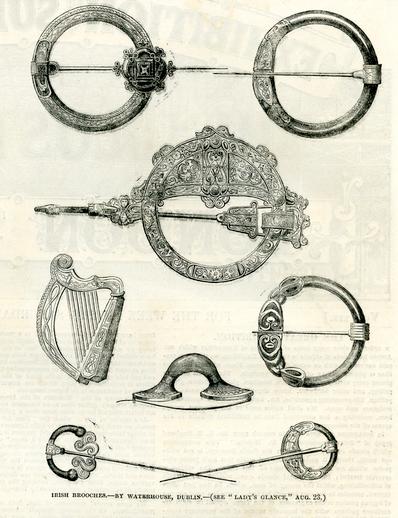 Irish brooches, by Waterhouse, Dublin,1851 / [unidentified artist]