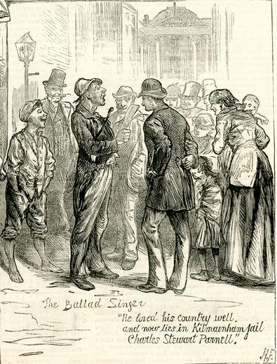 The ballad singer, 1881 / Harry Furness