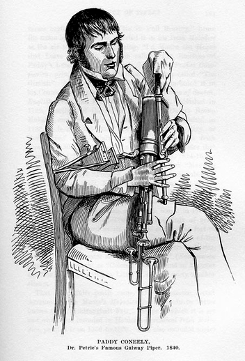 Paddy Conneely, pipes / unidentified artist
