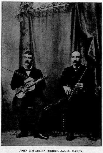 John McFadden, fiddle, & others / unidentified photographer