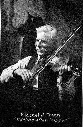 Michael J. Dunn, fiddle / unidentified photographer