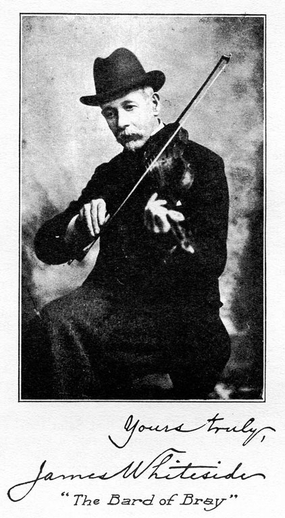 James Whiteside, fiddle / unidentified photographer