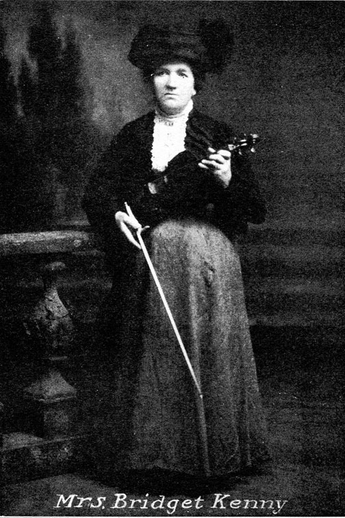 Bridget Kenny, fiddle / unidentified photographer