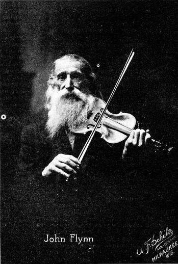 John Flynn, fiddle / unidentified photographer