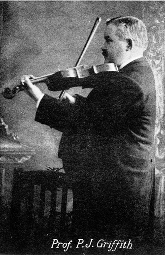 P.J. Griffith, fiddle / unidentified photographer