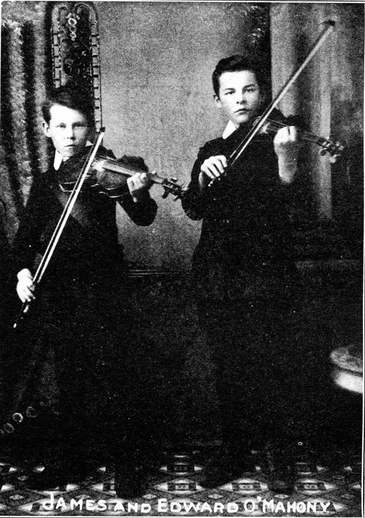 James O'Mahony, fiddle, & others / unidentified photographer