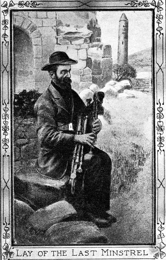 Lay of the last minstrel, pipes / unidentified artist